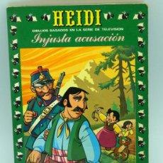 Tebeos: HEIDI Nº 21 EDICIONES RECREATIVAS ERSA 1977 INJUSTA ACUSACIÓN. Lote 22347979