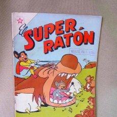 Tebeos: COMIC, EL SUPER RATON, Nº80, EDICIONES RECREATIVAS, EDITORES QUEROMON, 1958, . Lote 23126540