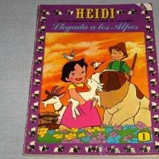 Tebeos: HEIDI Nº 1. ERSA 1975 60 PTS Y PLANETA CON CUPONES. LLEGADA A LOS ALPES.. Lote 23015056