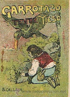 CUENTOS DE CALLEJA, GARROTAZO Y TENTE TIESO, SERIE IV, T. 62, MEDIDAS 4,5 X 6 CM. (Tebeos y Comics - Ersa)