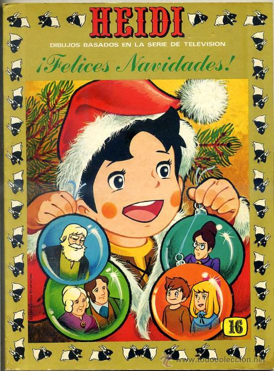 HEIDI Nº 16 (Tebeos y Comics - Ersa)