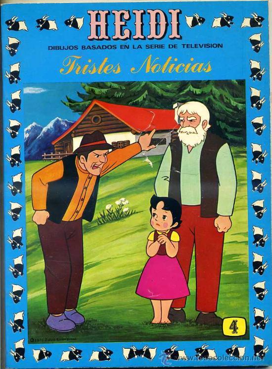 HEIDI Nº 4 (Tebeos y Comics - Ersa)