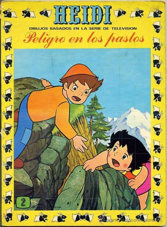 HEIDI Nº 2 (Tebeos y Comics - Ersa)