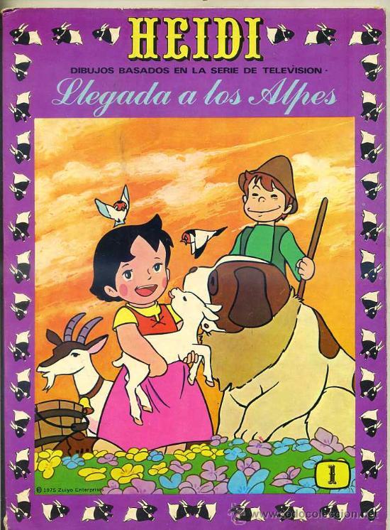 HEIDI Nº 1 (Tebeos y Comics - Ersa)