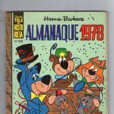 Tebeos: TELE-HISTORIETA - Nº 106 - ALMANAQUE 1978 - E.R.S.A. - AÑO 1977.. Lote 28152558