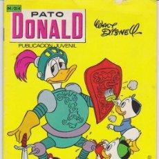 Livros de Banda Desenhada: PATO DONALD Nº 214. . Lote 28258336
