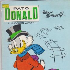 Livros de Banda Desenhada: PATO DONALD Nº 212. . Lote 28258344