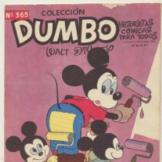 Tebeos: DUMBO Nº 365. ERSA 1947.. Lote 28364891