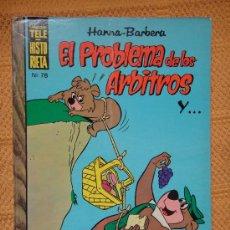 Tebeos: COLECCION TELEHISTORIETA Nº 78 EL PROBLEMA DE LOS ARBITROS . HANNA BARBERA . ERSA .. Lote 29860373