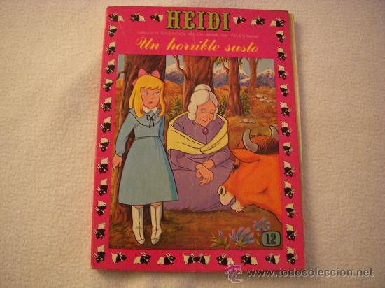HEIDI Nº 12, EDITORIAL ERSA (Tebeos y Comics - Ersa)