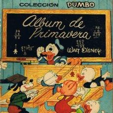 Tebeos: ÁLBUM DE PRIMAVERA - COLECCIÓN DUMBO - WALT DISNEY - 1962. Lote 30207447