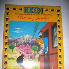 Tebeos: HEIDI - SERIE TVE - EDIC. RECREATIVAS (ERSA) NUM. 11 -OTRA VEZ JUNTAS- 1976. Lote 30297523