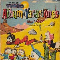 Tebeos: DUMBO ALBUM VACACIONES 1963. Lote 31322071