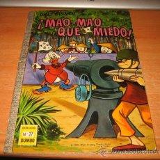 Tebeos: COLECCION DUMBO Nº 27 MAO-MAO QUE MIEDO......1970. Lote 31350466