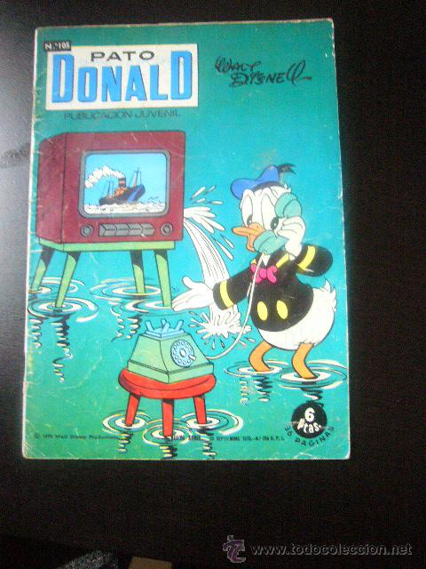 PATO DONALD Nº 105 EDICIONES RECREATIVAS - ERSA WALT DISNEY .....CDM (Tebeos y Comics - Ersa)
