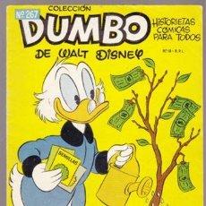 BDs: DUMBO 267 - WALT DISNEY TIO GILITO - ERSA 1957. Lote 31907709