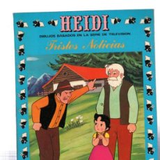 Tebeos: HEIDI, TRISTES NOTICIAS, 4, EDICIONES RECREATIVAS. Lote 31964109