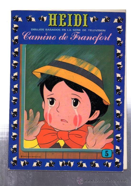 HEIDI, CAMINO DE FRANCFORT, 5, EDICIONES RECREATIVAS (Tebeos y Comics - Ersa)