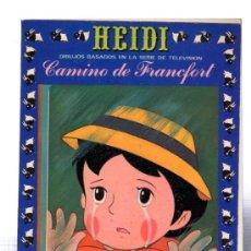 Tebeos: HEIDI, CAMINO DE FRANCFORT, 5, EDICIONES RECREATIVAS. Lote 31964113