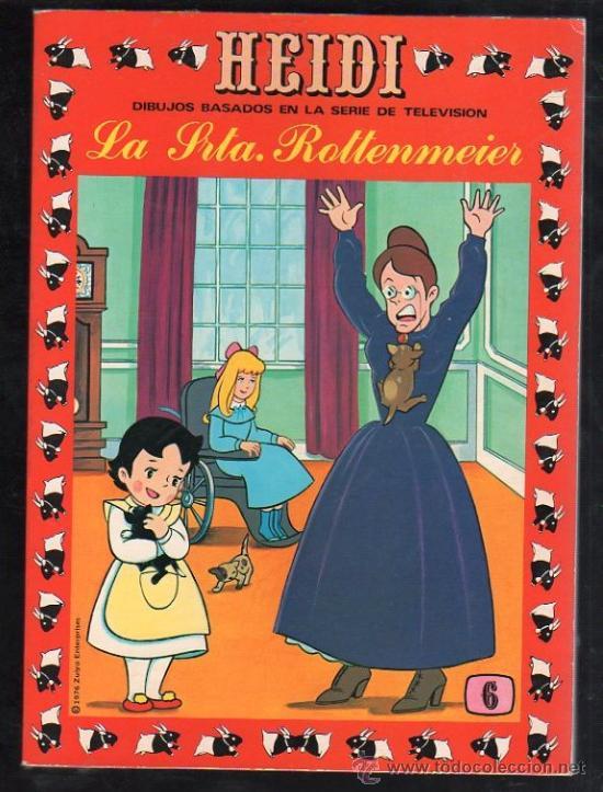 TEBEO DE HEIDI. Nº 6. 1976. ERSA. NUEVO (Tebeos y Comics - Ersa)