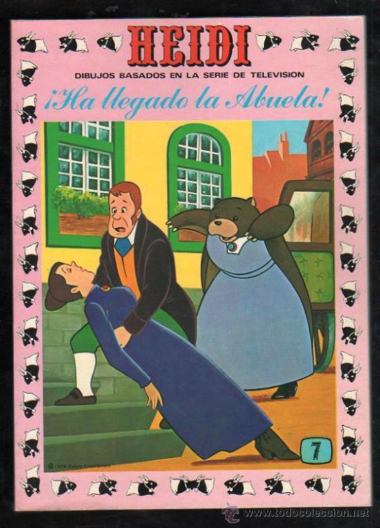 TEBEO DE HEIDI. Nº 7. 1976. ERSA. NUEVO (Tebeos y Comics - Ersa)