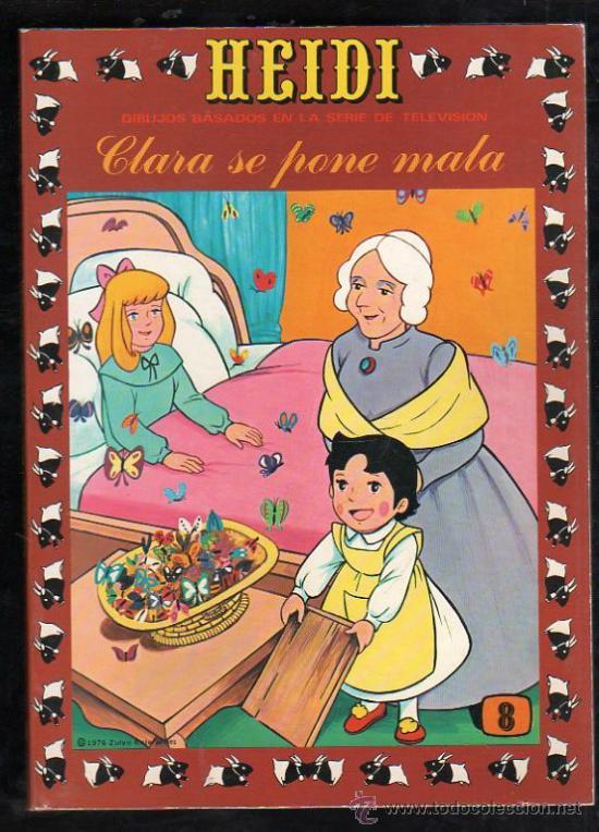 TEBEO DE HEIDI. Nº 8. 1976. ERSA. NUEVO (Tebeos y Comics - Ersa)