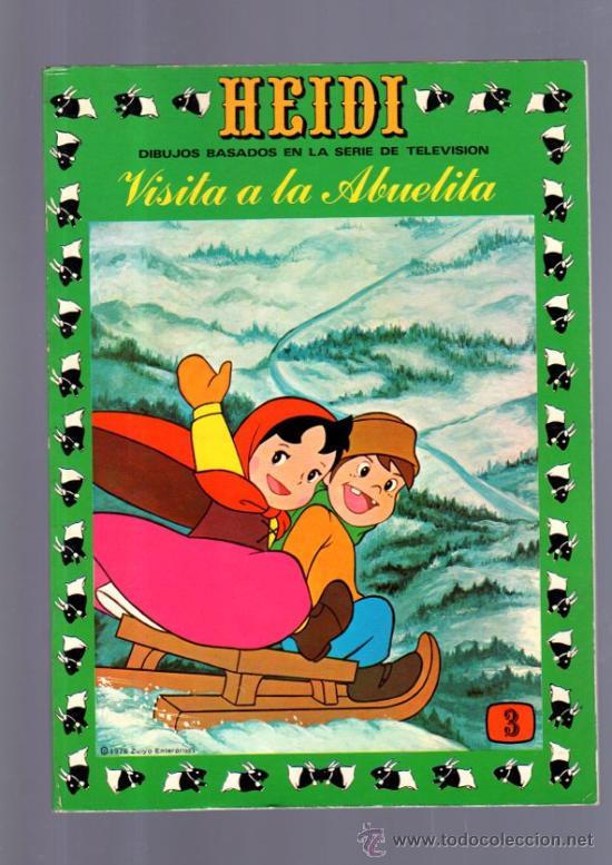 TEBEO DE HEIDI. Nº 3. 1976. ERSA. NUEVO. (Tebeos y Comics - Ersa)