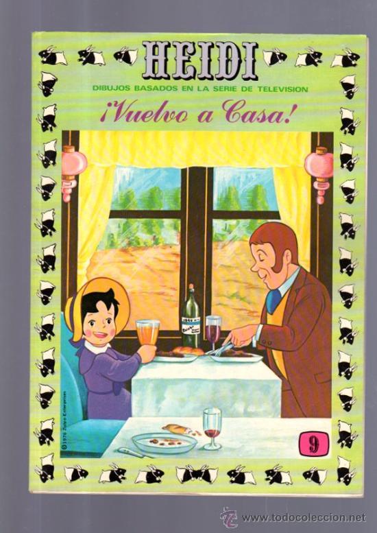 TEBEO DE HEIDI. Nº 9. 1976. ERSA. NUEVO. (Tebeos y Comics - Ersa)