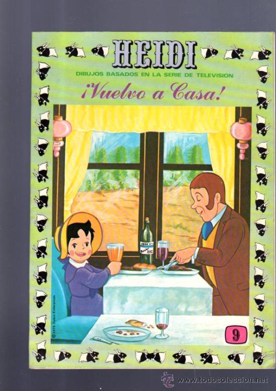 TEBEO DE HEIDI. Nº 9. 1976. ERSA. (Tebeos y Comics - Ersa)