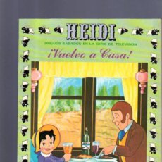 Tebeos: TEBEO DE HEIDI. Nº 9. 1976. ERSA.. Lote 32609317