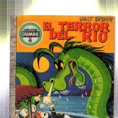 Tebeos: EL TERROR DEL RIO. WALT DISNEY. COLECCION DUMBO. 1972.. Lote 32655519