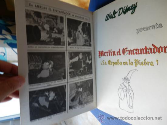 Tebeos: COLECCION DUMBO NUM. 5 - WALT DISNEY - MERLIN EL ENCANTADOR - ERSA año 1966 - Foto 2 - 32990222
