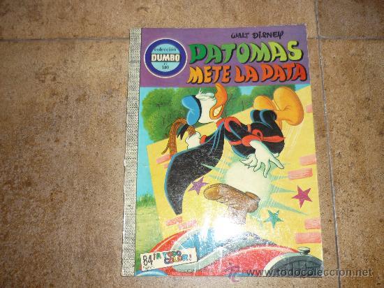 DUMBO Nº140 PATOMAS METE LA PATA ¡¡CONTIENE EL CUPON!!. (Tebeos y Comics - Ersa)