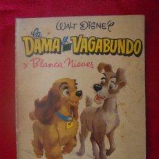 Tebeos: LA DAMA Y EL VAGABUNDO Y BLANCANIEVES - COLECCION DUMBO 1 - 1ª EDICION 1958 - RUSTICA. Lote 33166724