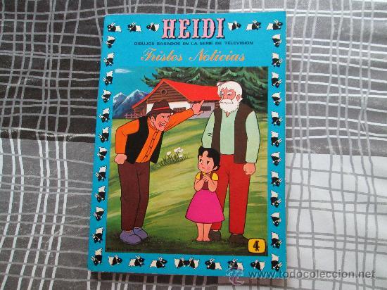 HEIDI N 4 TRISTES NOTICIAS (Tebeos y Comics - Ersa)
