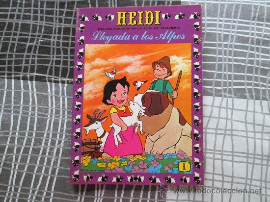 HEIDI N 1 LLEGADA A LOS ALPES (Tebeos y Comics - Ersa)