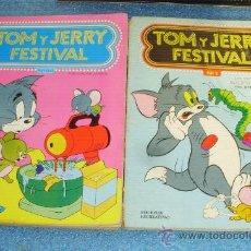 Tebeos: - TOM Y JERRY FESTIVAL TOMOS 1 Y 44 ERSA 1.977/78 . Lote 35597172