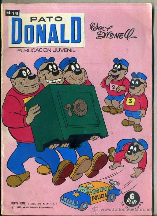 PATO DONALD Nº 141 (Tebeos y Comics - Ersa)
