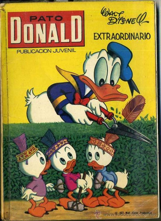 PATO DONALD EXTRAORDINARIO MARZO 1971 (Tebeos y Comics - Ersa)