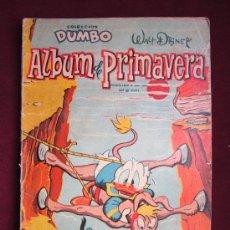 Tebeos: COLECCION DUMBO. ALBUM PRIMAVERA 1958. ERSA. WALT DISNEY. 30 PTS.. Lote 36043557