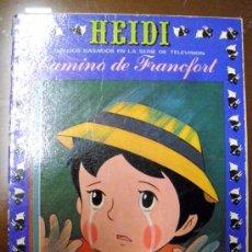 Tebeos: HEIDI. EDICIONES RECREATIVAS. NÚMERO 5 (ST/). Lote 36070357