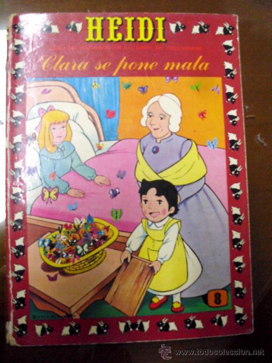 HEIDI. EDICIONES RECREATIVAS. NÚMERO 8 (ST) (Tebeos y Comics - Ersa)