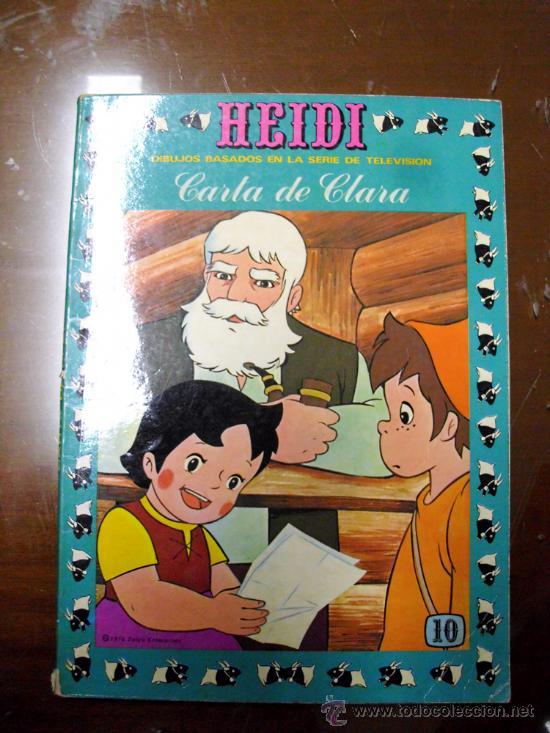 HEIDI. EDICIONES RECREATIVAS. NÚMERO 10 (ST) (Tebeos y Comics - Ersa)