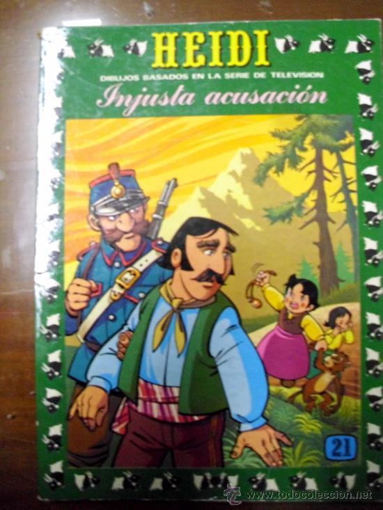 HEIDI. EDICIONES RECREATIVAS. NÚMERO 21 (ST/.) (Tebeos y Comics - Ersa)