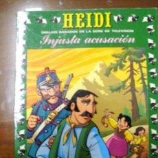 Tebeos: HEIDI. EDICIONES RECREATIVAS. NÚMERO 21 (ST/.). Lote 36070745