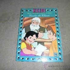 Tebeos: HEIDI Nº 10 CARTA DE CLARA EDICIONES ERSA. Lote 36462813