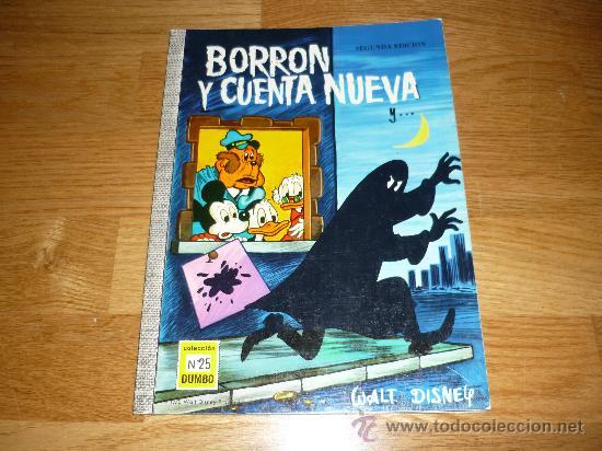 BORRON Y CUENTA NUEVA - COLECCIÓN DUMBO - Nº 25 - WALT DISNEY - 1970 PERFECTO (Tebeos y Comics - Ersa)