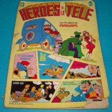 Tebeos: HEROES DE LA TELE Nº 13, LOS PELIGROS DE PENELOPE, PUBLICACION JUVENIL, EDICIONES ERSA. Lote 36892507