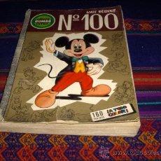 Tebeos: DUMBO Nº 100. ERSA 1973. WALT DISNEY. 50 PTS. 160 PÁGINAS.. Lote 36981083