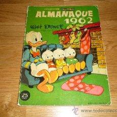 Tebeos: DUMBO ALMANAQUE 1962 (WALT DISNEY). Lote 37191777